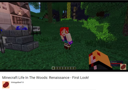 Phedran walk Vintagebeef through the all new Life in the Woods Renaissance Modpack.